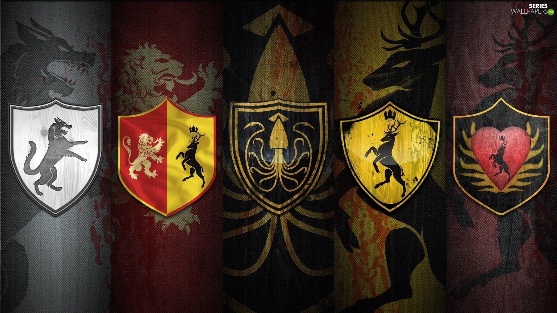 Crests, Game of Thrones, Game Of Thrones